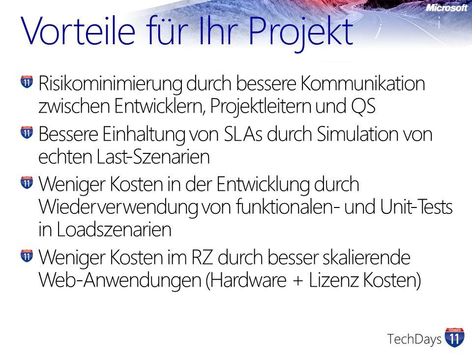 Vorteile für Ihr Projekt