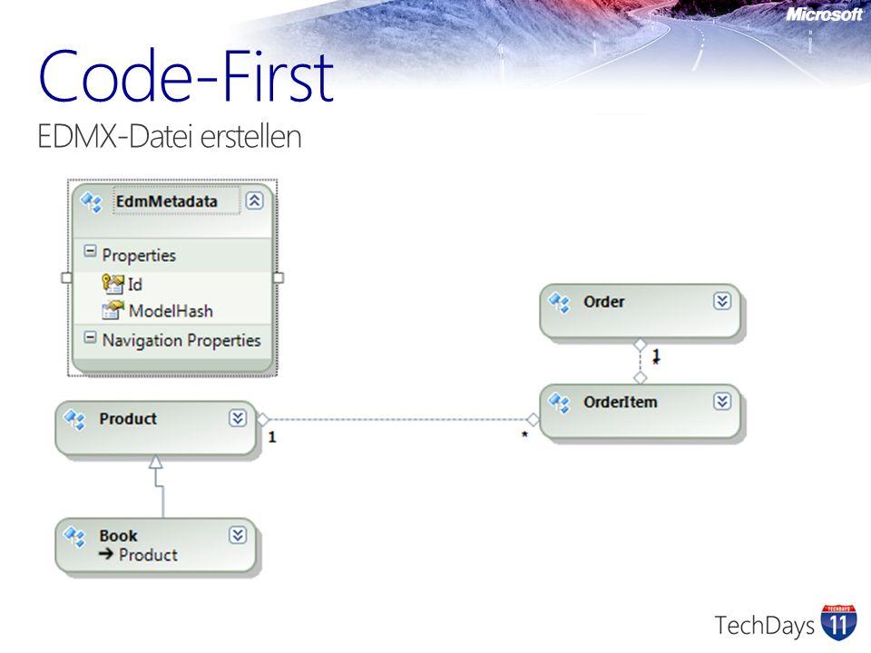 Code-First EDMX-Datei erstellen