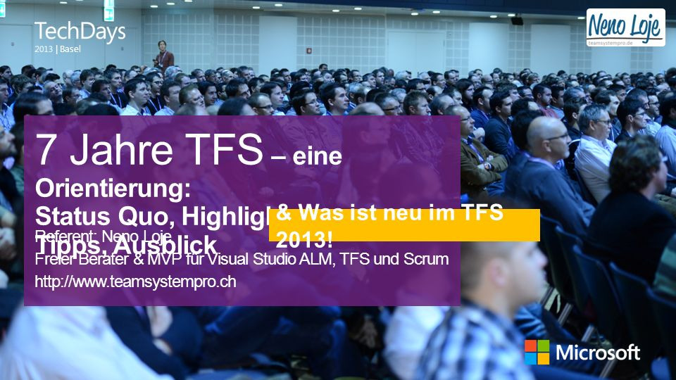7 Jahre TFS – eine Orientierung: Status Quo, Highlights, Tipps, Ausblick