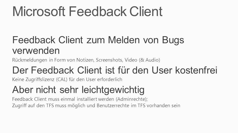 Microsoft Feedback Client