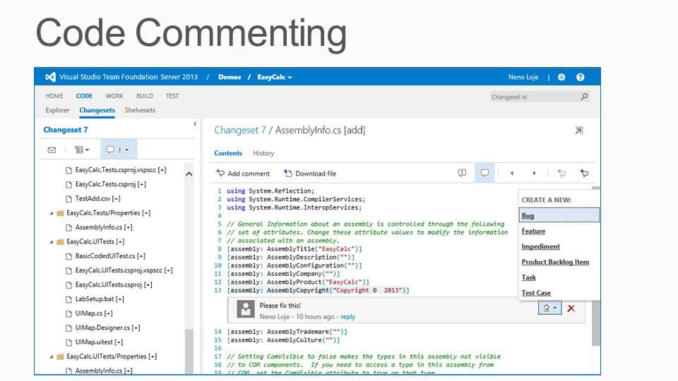 Code Commenting