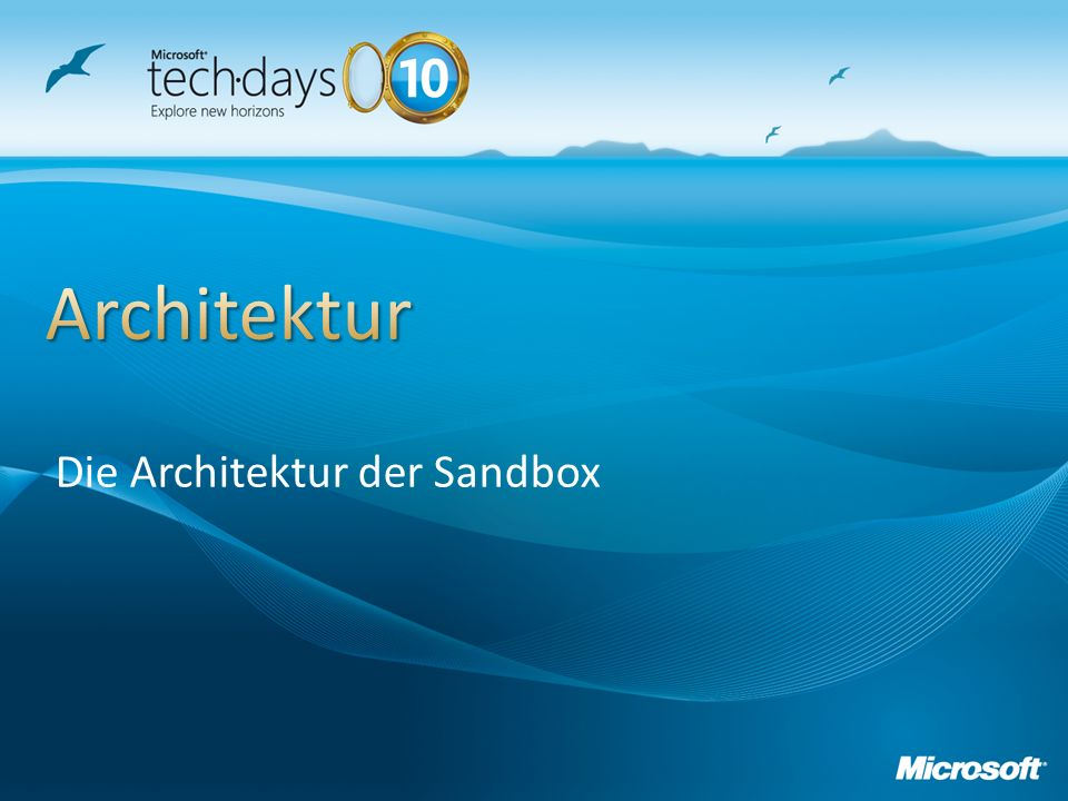 Die Architektur der Sandbox