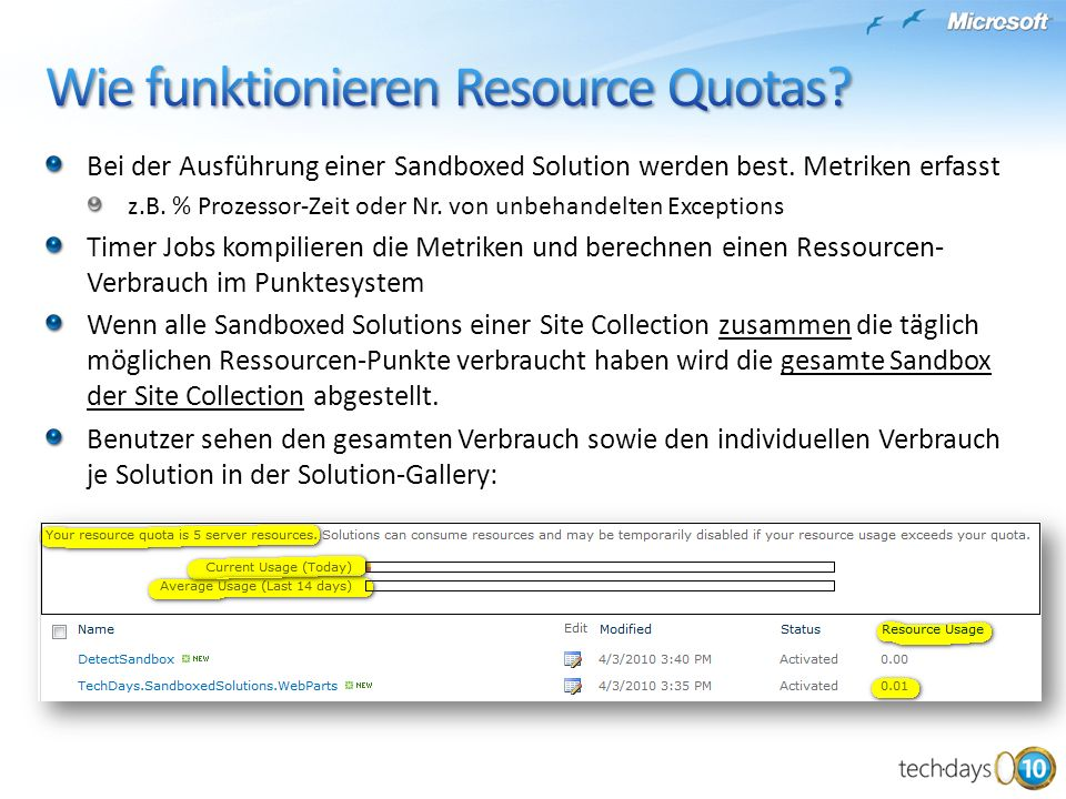 Wie funktionieren Resource Quotas