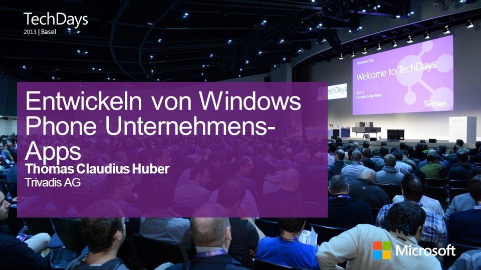 Entwickeln von Windows Phone Unternehmens-Apps