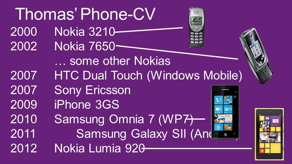 Thomas' Phone-CV
