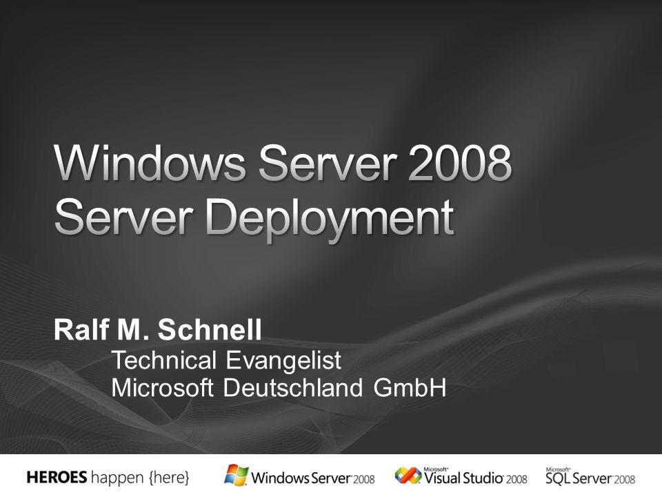 Windows Server 2008 Server Deployment