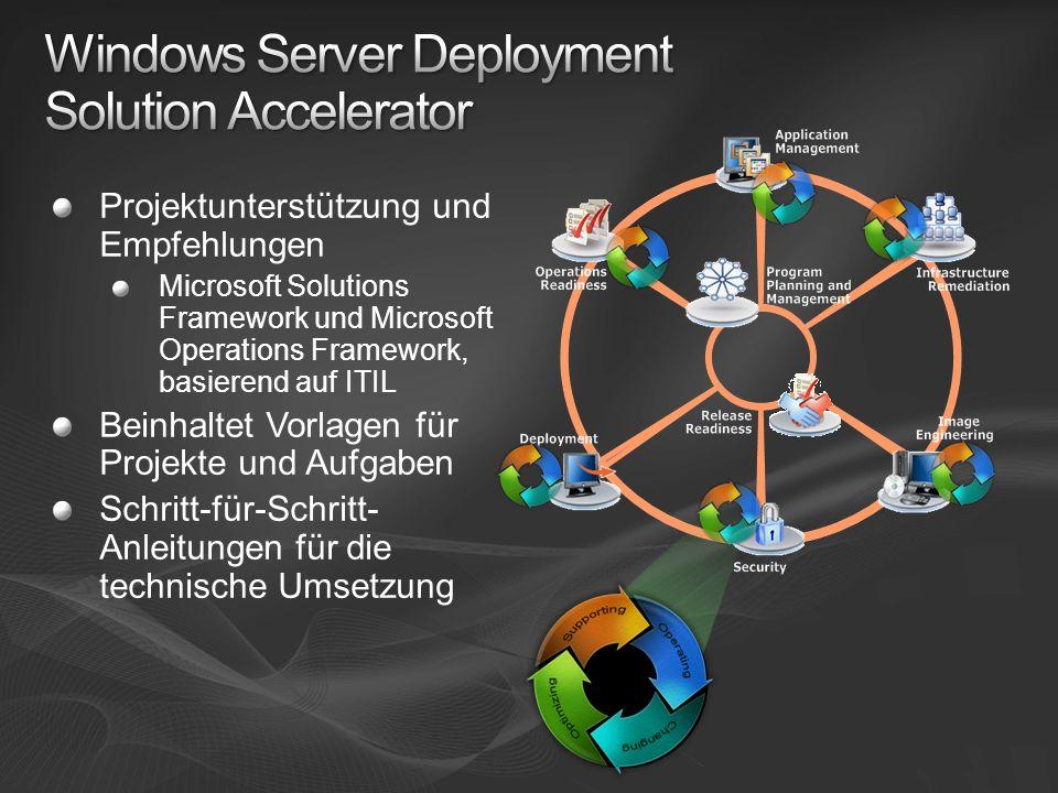 Windows Server Deployment Solution Accelerator