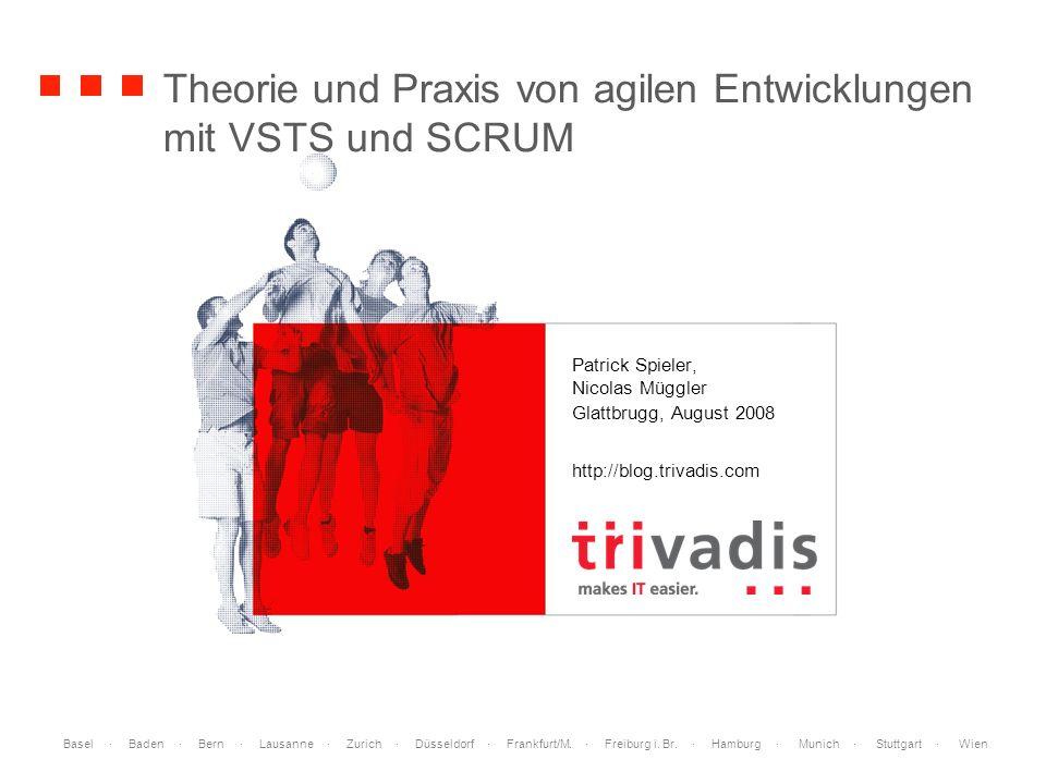 Theorie und Praxis von agilen Entwicklungen mit VSTS und SCRUM