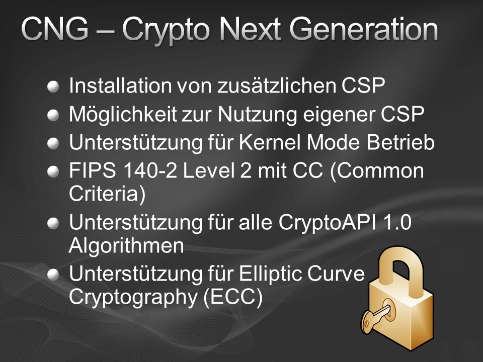 CNG – Crypto Next Generation
