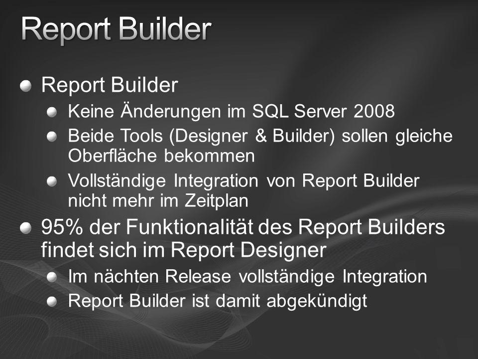 Report Builder Report Builder