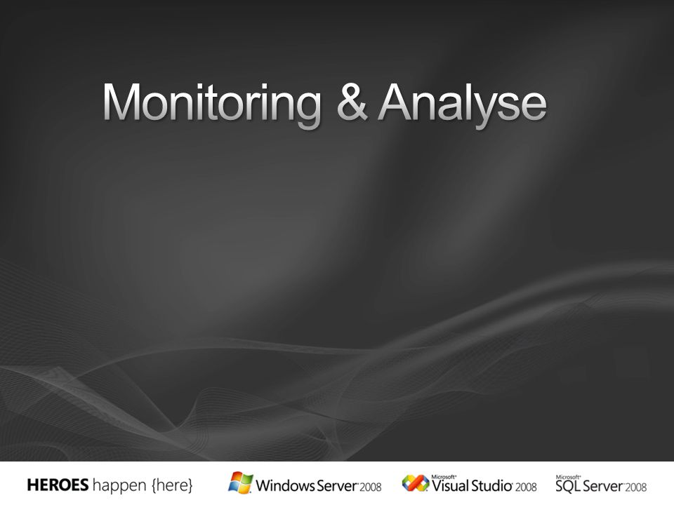 Monitoring & Analyse