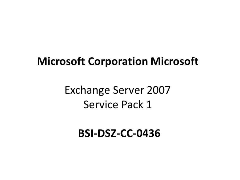 Microsoft Corporation Microsoft