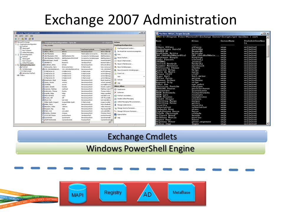 Exchange 2007 Administration