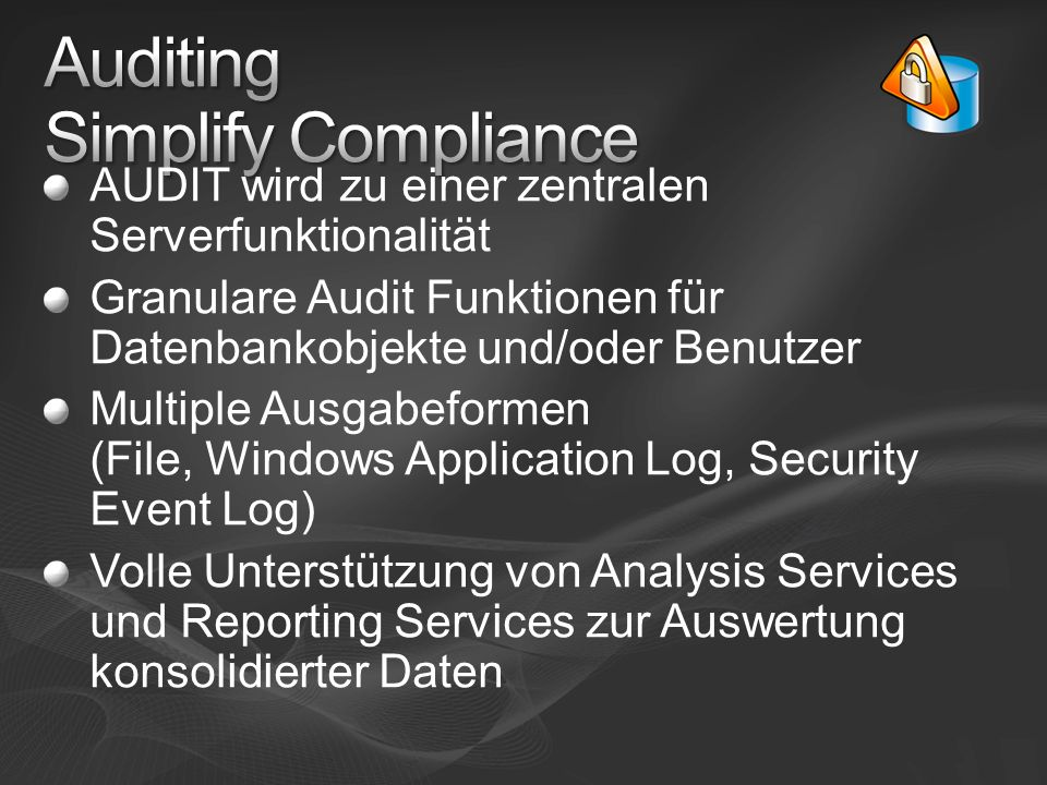 Auditing Simplify Compliance