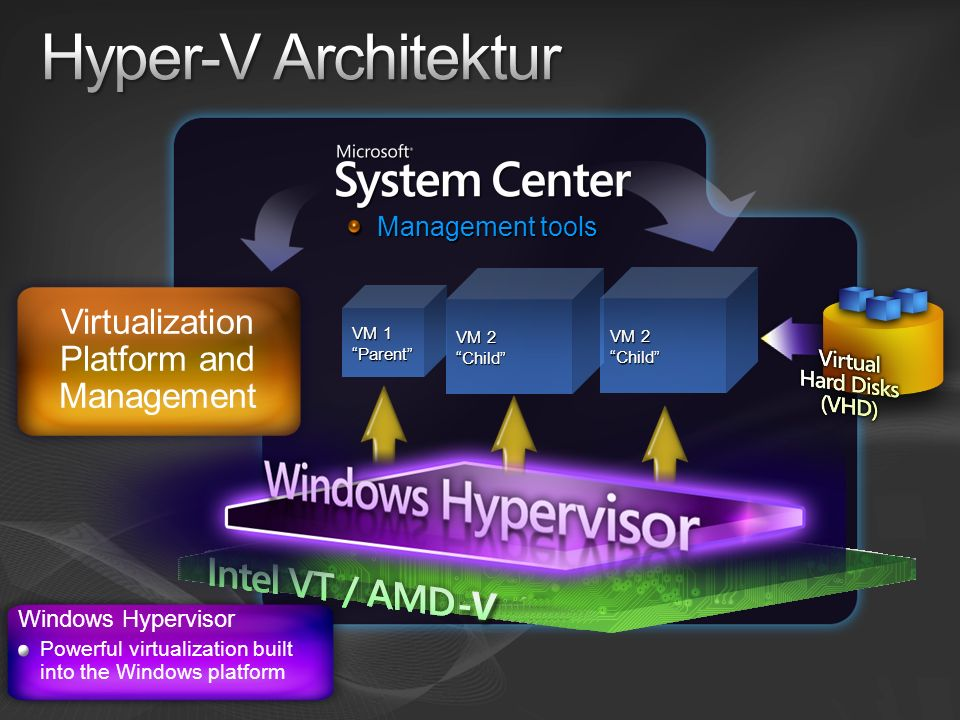 Virtualization Platform and Management