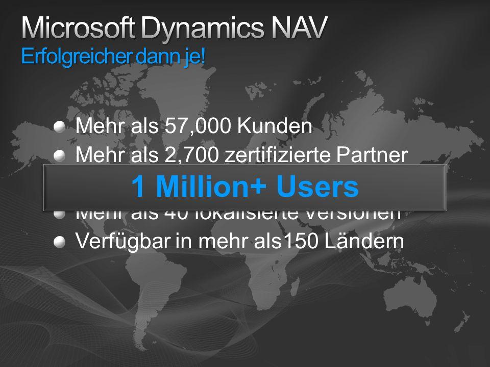 Microsoft Dynamics NAV Erfolgreicher dann je!