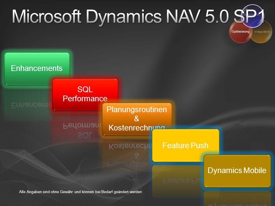 Microsoft Dynamics NAV 5.0 SP1