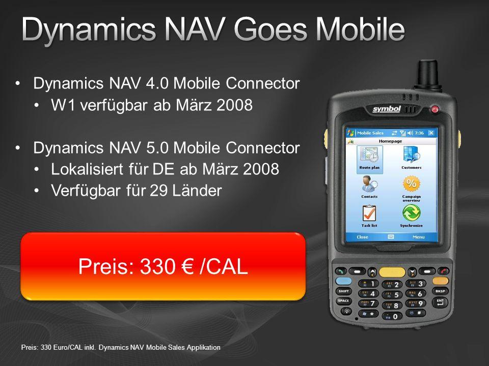 Dynamics NAV Goes Mobile