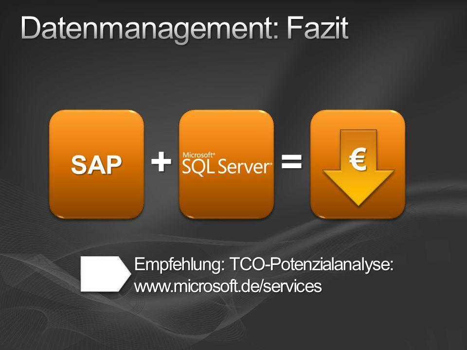 Datenmanagement: Fazit