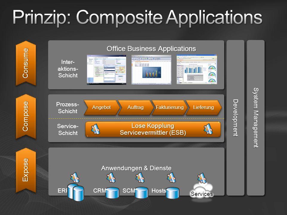 Prinzip: Composite Applications
