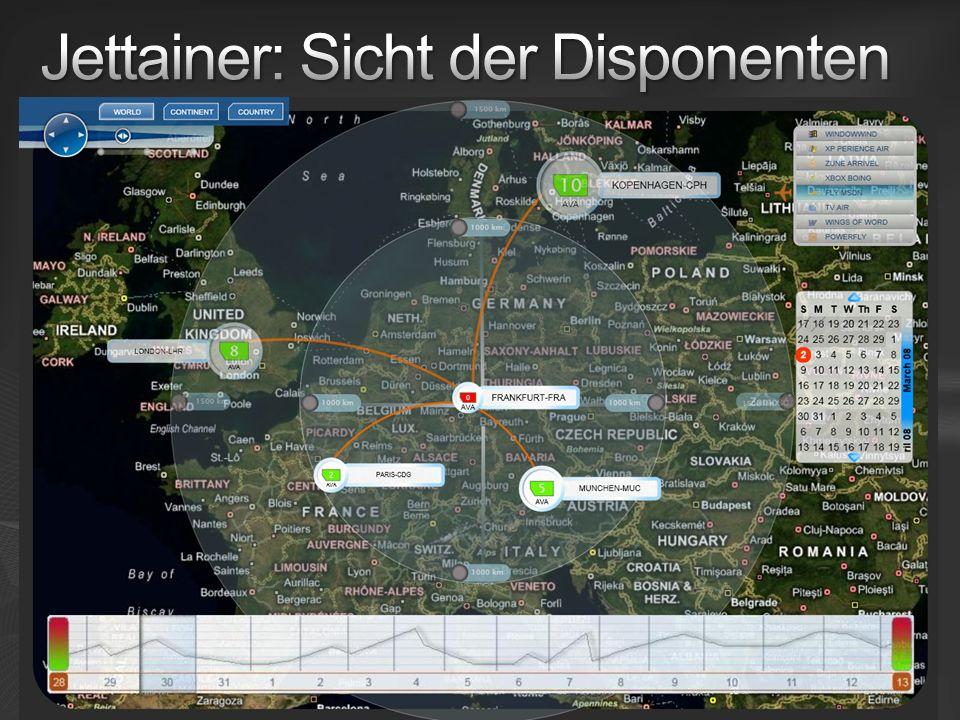 Jettainer: Sicht der Disponenten