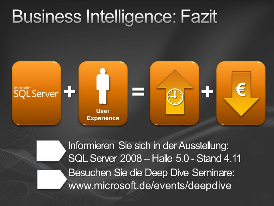 Business Intelligence: Fazit