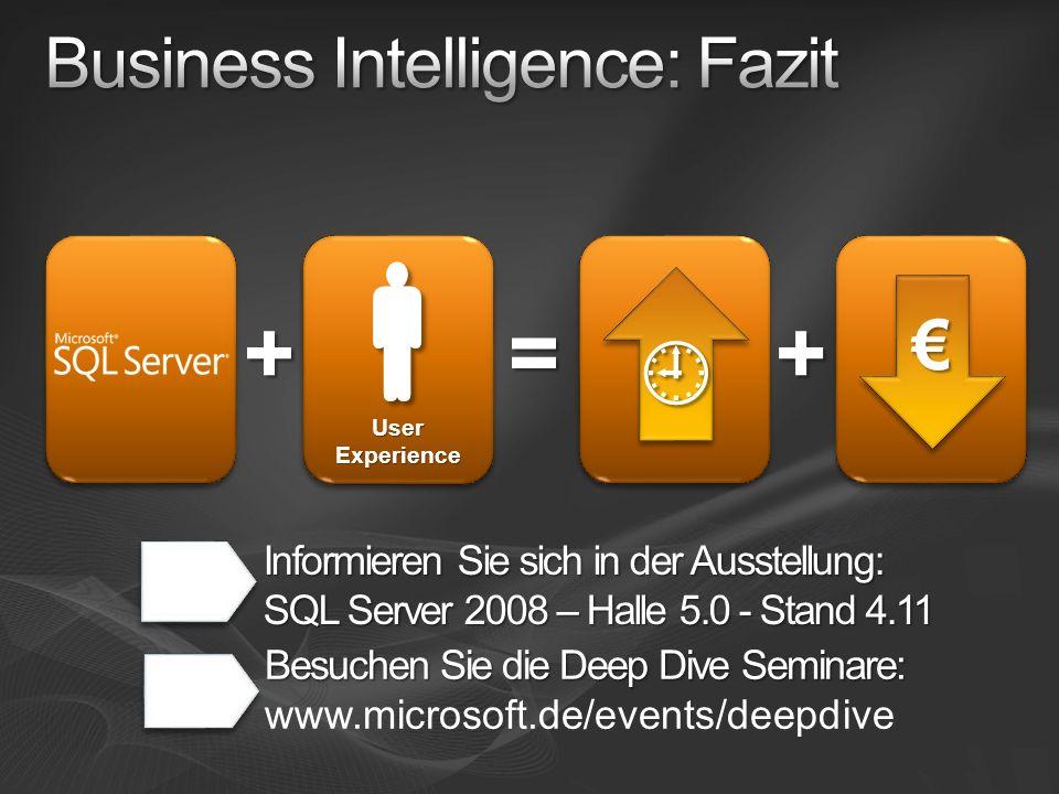 Business Intelligence: Fazit