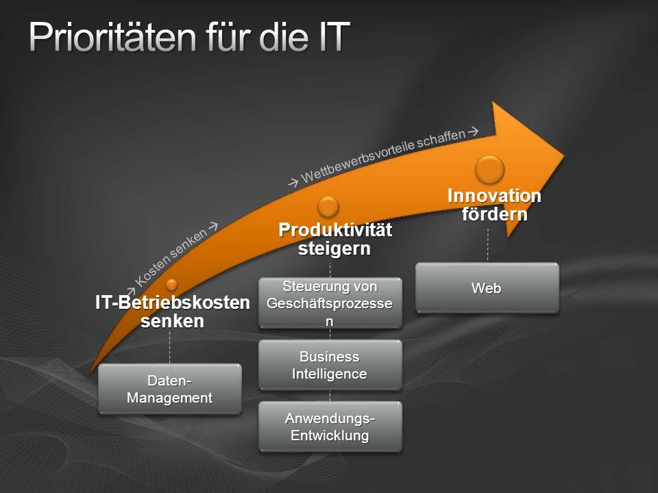 Produktivität steigern IT-Betriebskosten senken