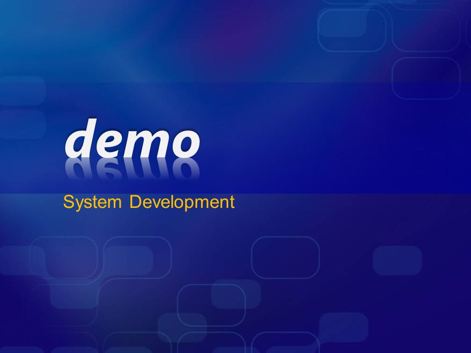 System Development Layer Diagram Validation Demo
