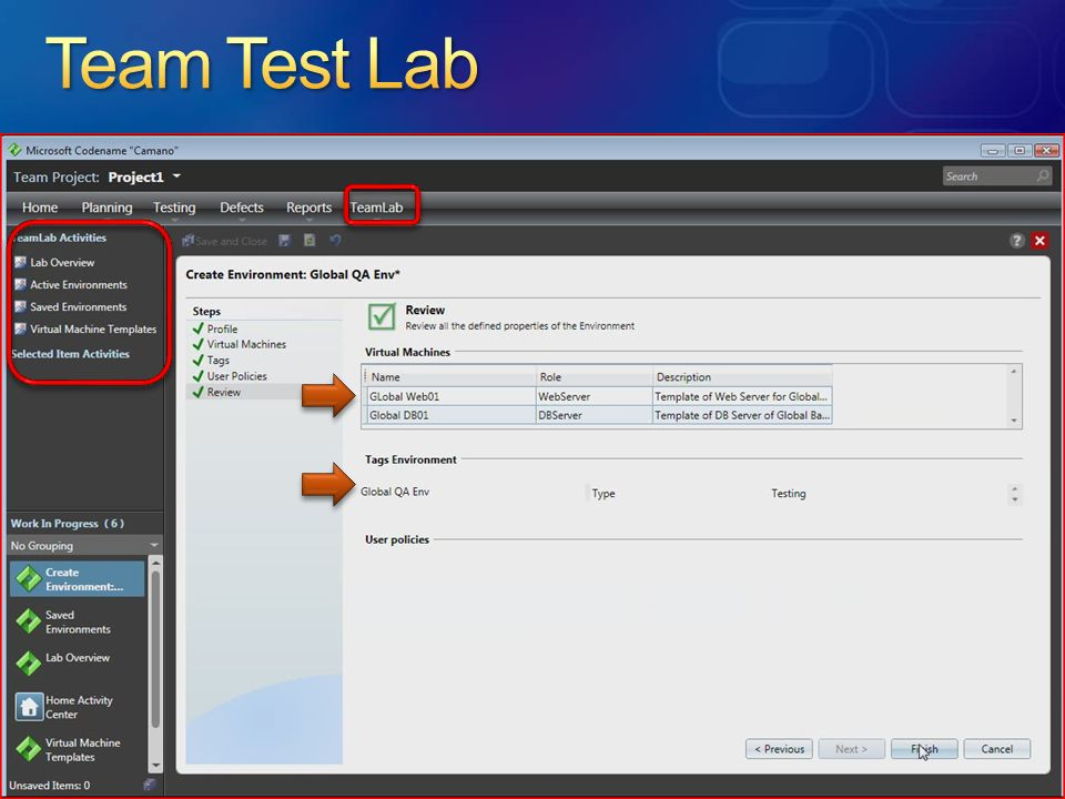 Team Test Lab