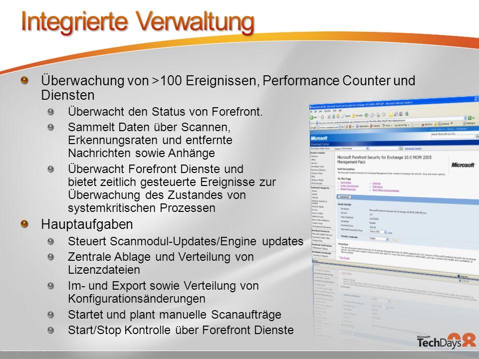 Integrierte Verwaltung