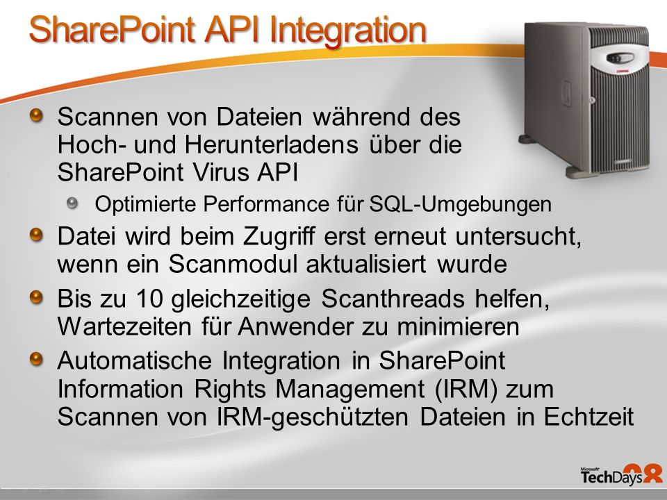 SharePoint API Integration