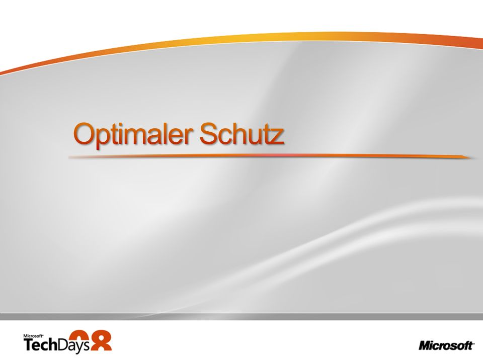 Optimaler Schutz