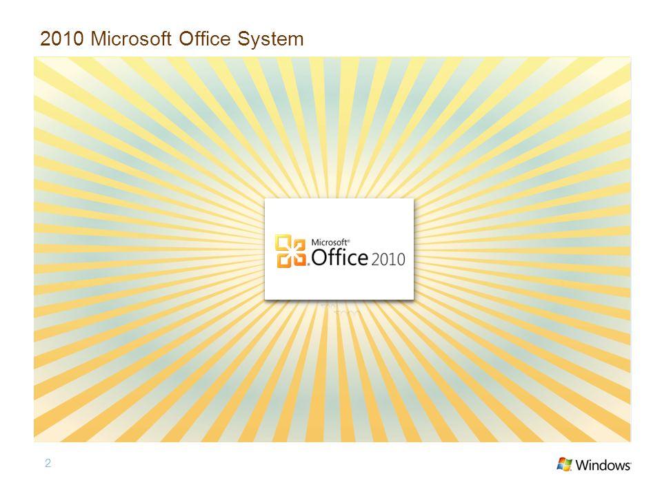 2010 Microsoft Office System