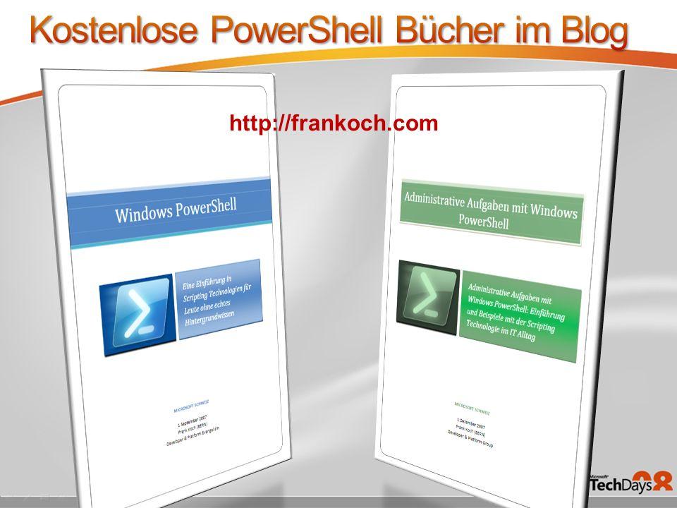 Kostenlose PowerShell Bücher im Blog