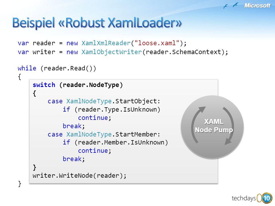 Beispiel «Robust XamlLoader»
