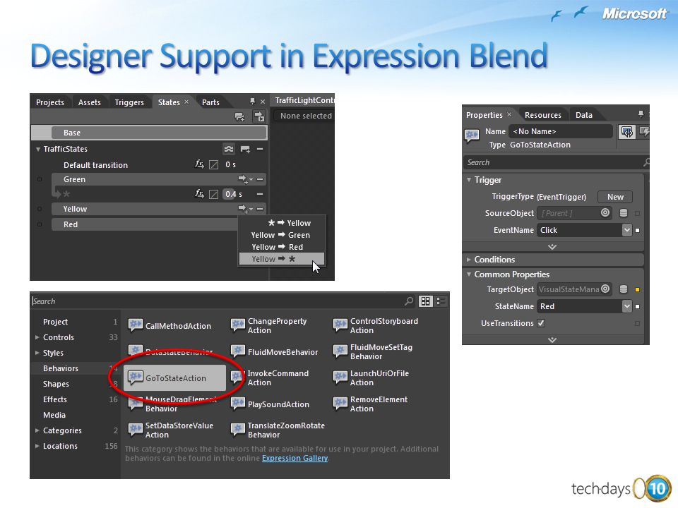 Designer Support in Expression Blend