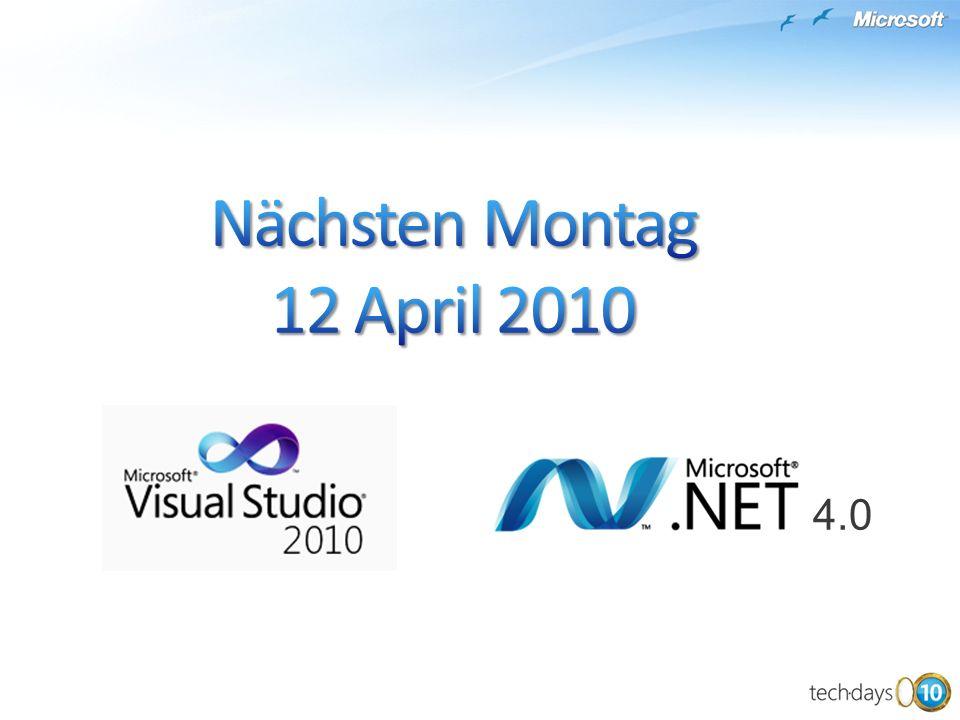 Nächsten Montag 12 April 2010 4.0