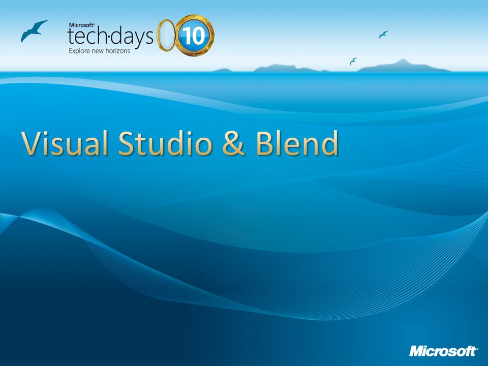 Visual Studio & Blend