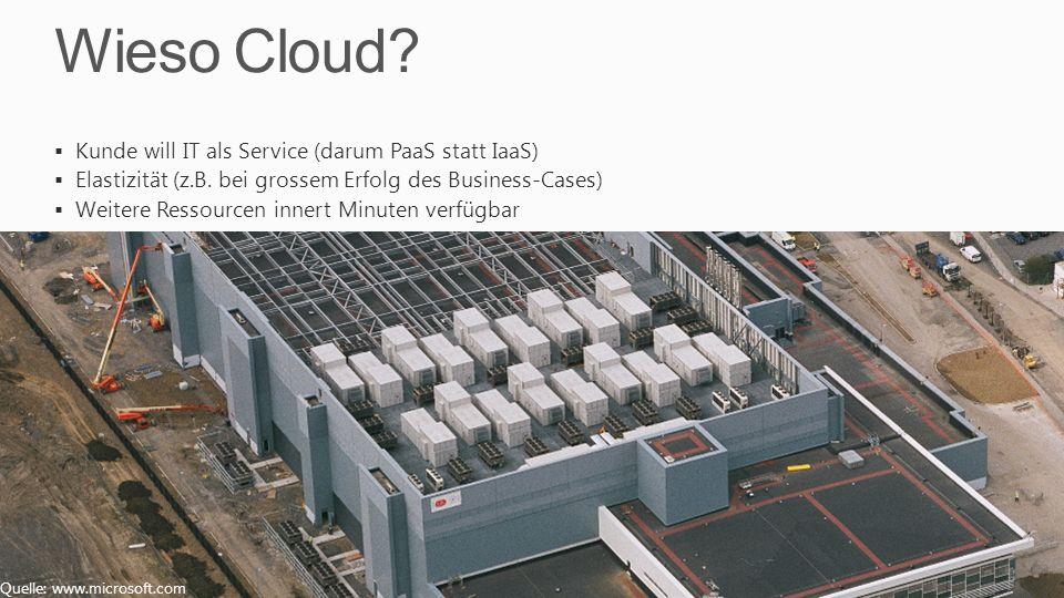 Wieso Cloud Kunde will IT als Service (darum PaaS statt IaaS)