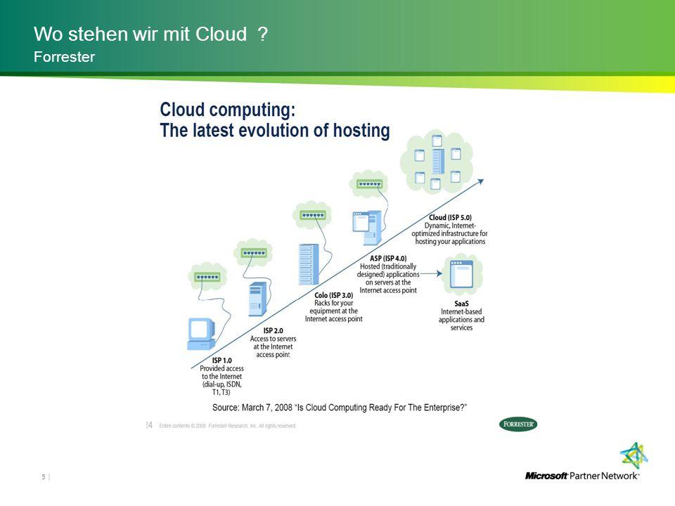 Wo stehen wir mit Cloud Forrester
