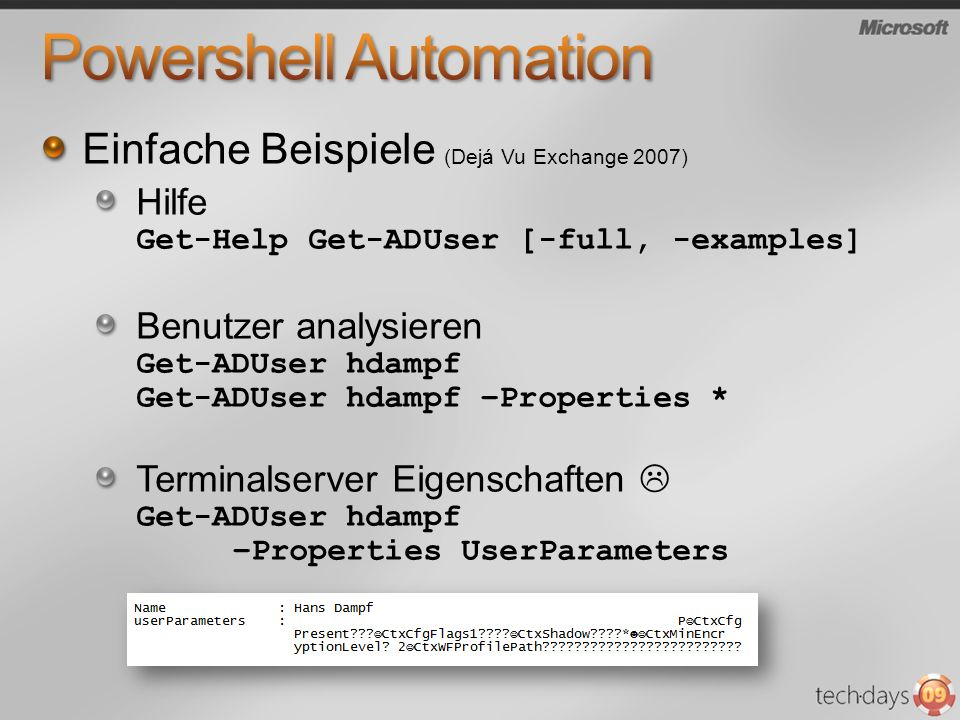 Powershell Automation