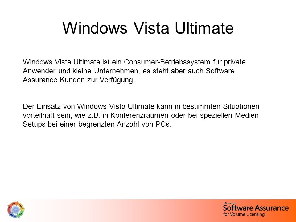 Windows Vista Ultimate