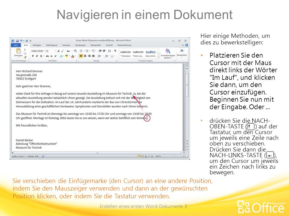 links entfernen in word dokumente