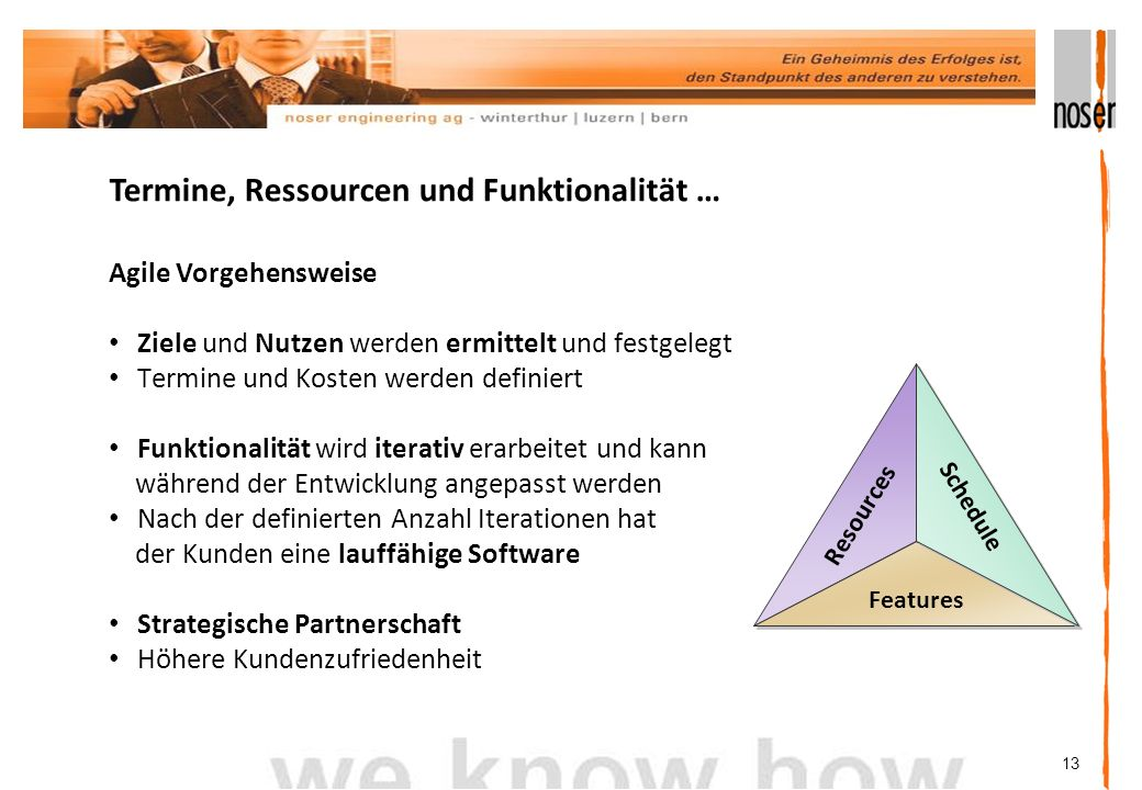 Termine, Ressourcen und Funktionalität …
