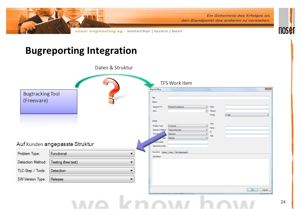 Bugreporting Integration