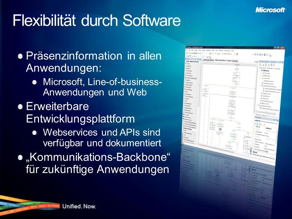 Flexibilität durch Software