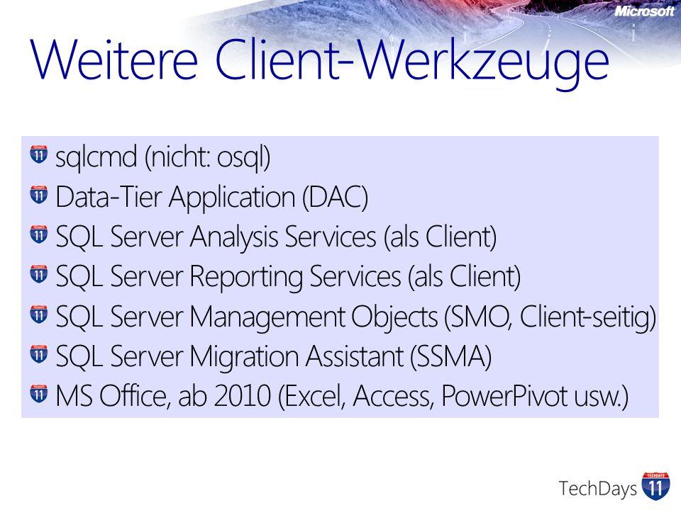 Weitere Client-Werkzeuge