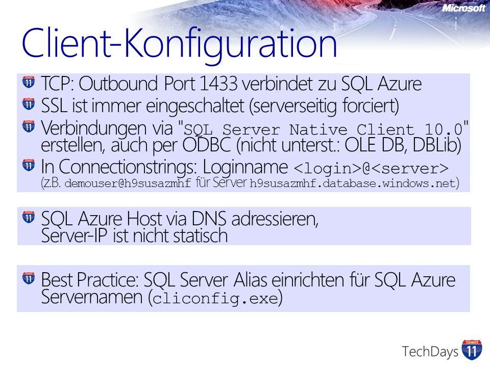 Client-Konfiguration
