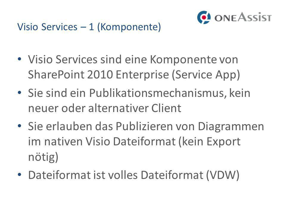 Visio Services – 1 (Komponente)